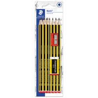 Staedtler Noris 10 Pencils, Eraser and Sharpener