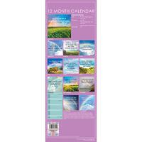 2021 Slim Calendar: Rainbows