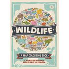 Wildlife: A Map Colouring Book image number 1