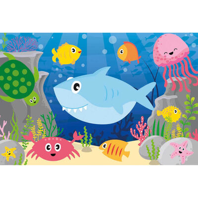 Sea Life Friends 50 Piece Jigsaw Puzzle image number 2