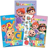 Cocomelon Colouring & Sticker Fun Bundle