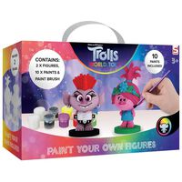 Trolls 2 Paint Your Own Figures