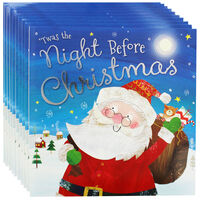 Twas the Night Before Christmas: Pack of 10 Kids Picture Book Bundle