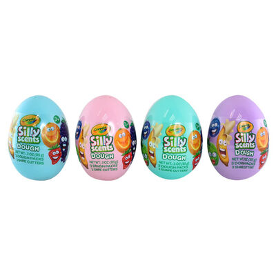 Crayola Silly Scents Dough Egg: Assorted image number 2