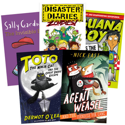 Unlikely Superheroes: 5 Book Collection image number 1