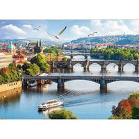 Prague Czech Republic 500 Piece Jigsaw Puzzle