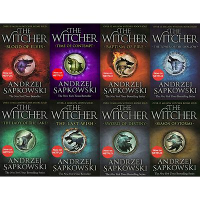 The Witcher: 8 Book Box Set image number 2