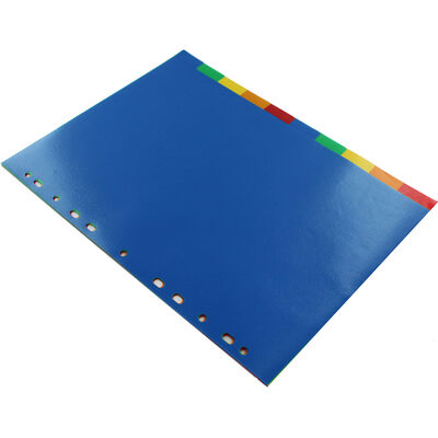A4 Coloured Dividers - 10 Pack image number 2