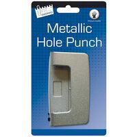 Grey Metal Hole Punch