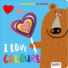 I Love Colours Board Book image number 1
