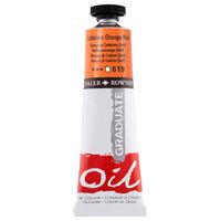Graduate Oil Paint Cadmium Orange 38ml