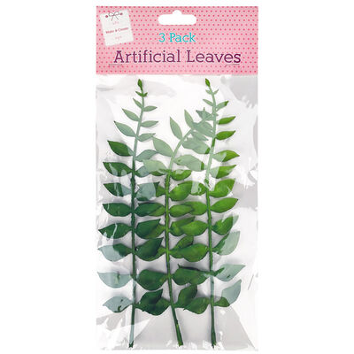 Artificial Leaves - 3 Pack image number 1
