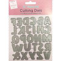 Alphabet Metal Cutting Die Set