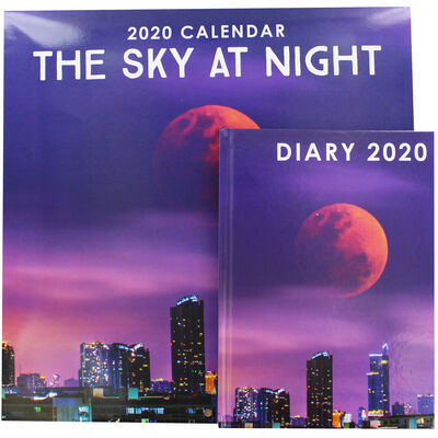 The Sky at Night 2020 Calendar and Diary Set image number 1