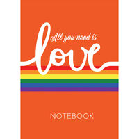 A5 Casebound Love Notebook