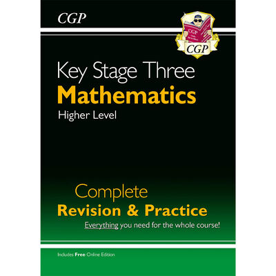 KS3 Maths Complete Revision and Practice: Higher Level image number 1