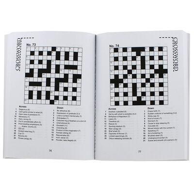 Pocket Puzzles Floral Purple Crosswords Book image number 2