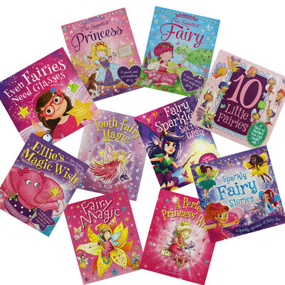 Fairy Tales: 10 Kids Picture Books Bundles image number 1