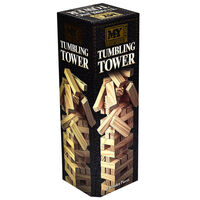 Wooden Tumbling Tower 48 Piece Game