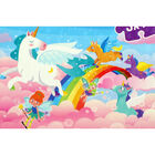 Unicorns 3-in-1 48 Piece Jigsaw Puzzle Set image number 3