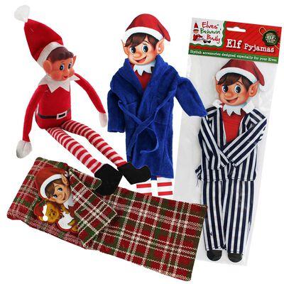 Christmas Elf Sleeping Accessories Bundle image number 1