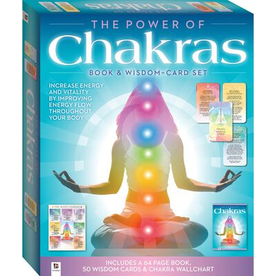 The Power of Chakras: Book & Wisdom-Card Set image number 1