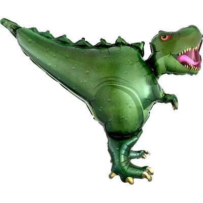 36 Inch Dinosaur Super Shape Helium Balloon image number 1