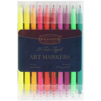 Boldmere 20 Twin Tipped Art Markers