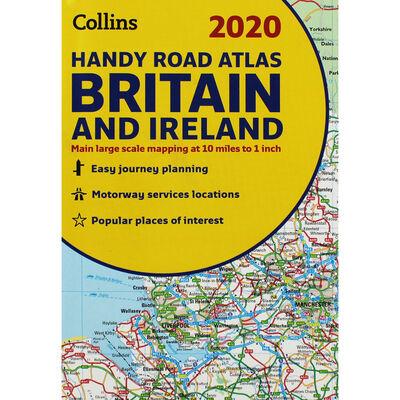 Collins 2020 Handy Road Atlas: Britain and Ireland image number 1