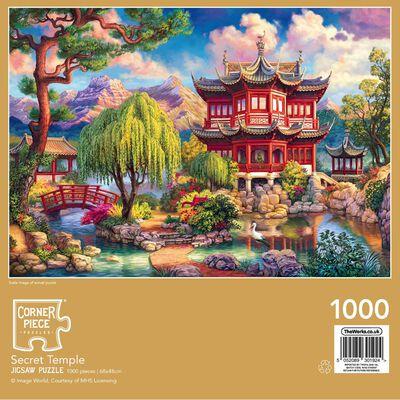 Secret Temple 1000 Piece Jigsaw Puzzle image number 3