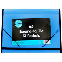 A4 Expanding File - Assorted