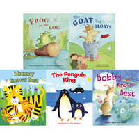 Animal Laughter: 10 Kids Picture Books Bundle