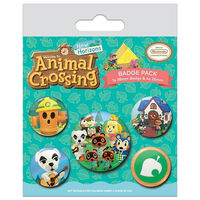 Animal Crossing New Horizons Badge Pack