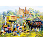 Meeting the Neighbours 500 Piece Jigsaw Puzzle image number 3