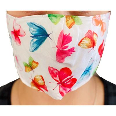 Butterfly Reusable Face Covering image number 3