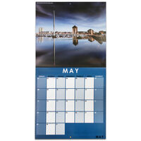 Beautiful Wales 2022 Square Calendar and Diary Set