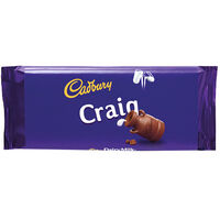 Cadbury Dairy Milk Chocolate Bar 110g - Craig