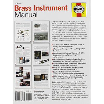 Haynes Brass Instrument Manual image number 3