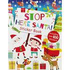 Stop Here Santa Sticker Book image number 1
