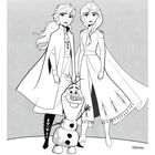Disney Frozen 2 Carry Along Colouring Set image number 2
