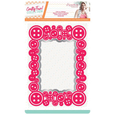 Sara Signature Cut and Emboss Folder - Cute as a Button image number 1