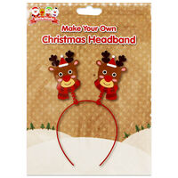 Make Your Own Christmas Headband: Assorted