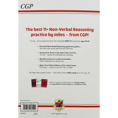 CGP 11+ Non-Verbal Reasoning: Practice Book with Assessment Tests image number 3