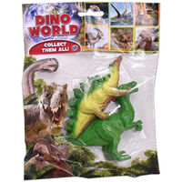 Assorted Dinosaur Figure: Pack of 2
