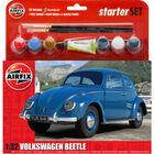 Airfix VW Beetle 1:32 Scale Model Starter Set image number 1