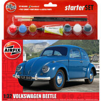 Airfix VW Beetle 1:32 Scale Model Starter Set