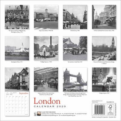 London Heritage 2020 Wall Calendar image number 3