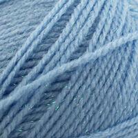 Robin Bonny Babe Sparkle DK: Blue Yarn 100g