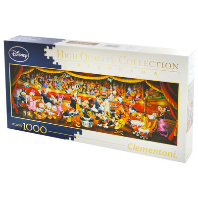 Disney Orchestra Panorama 1000 Piece Jigsaw Puzzle image number 3