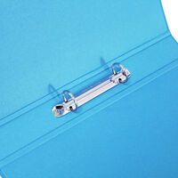 Bright Blue A4 Ring Binder File